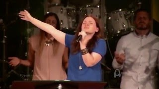 Worship Leader touched by the Power of God