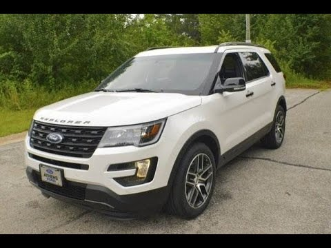 Exclusive 2016 Ford Explorer Sport With Mark Mills At Athens