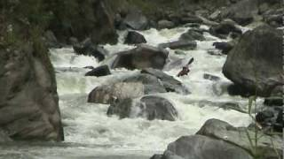 Kayaking the Papallacta River, Ecuador