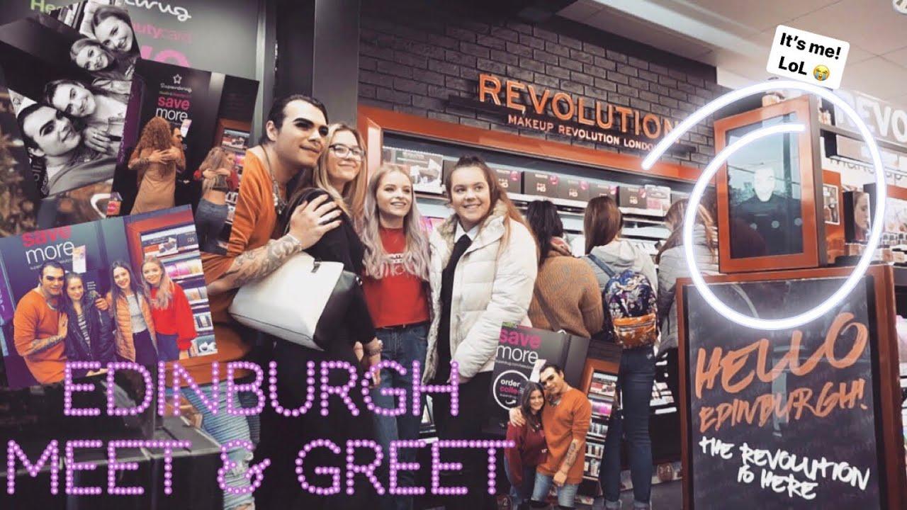 Makeup Revolution Edinburgh Meet Greet W Sophdoesnails Youtube