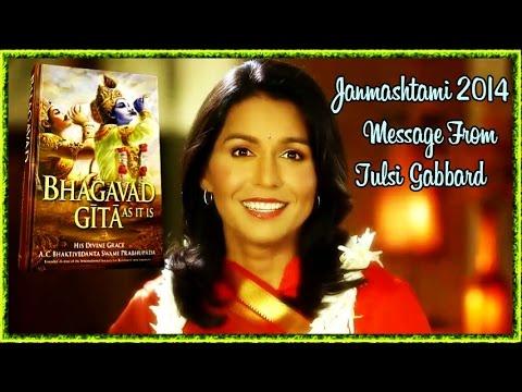 JANMASHTAMI 2014 MESSAGE BY TULSI GABBARD, US CONGRESSWOMAN.
