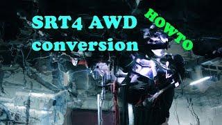 AWD Dodge Caliber SRT4 (HOW to make AWD swap)