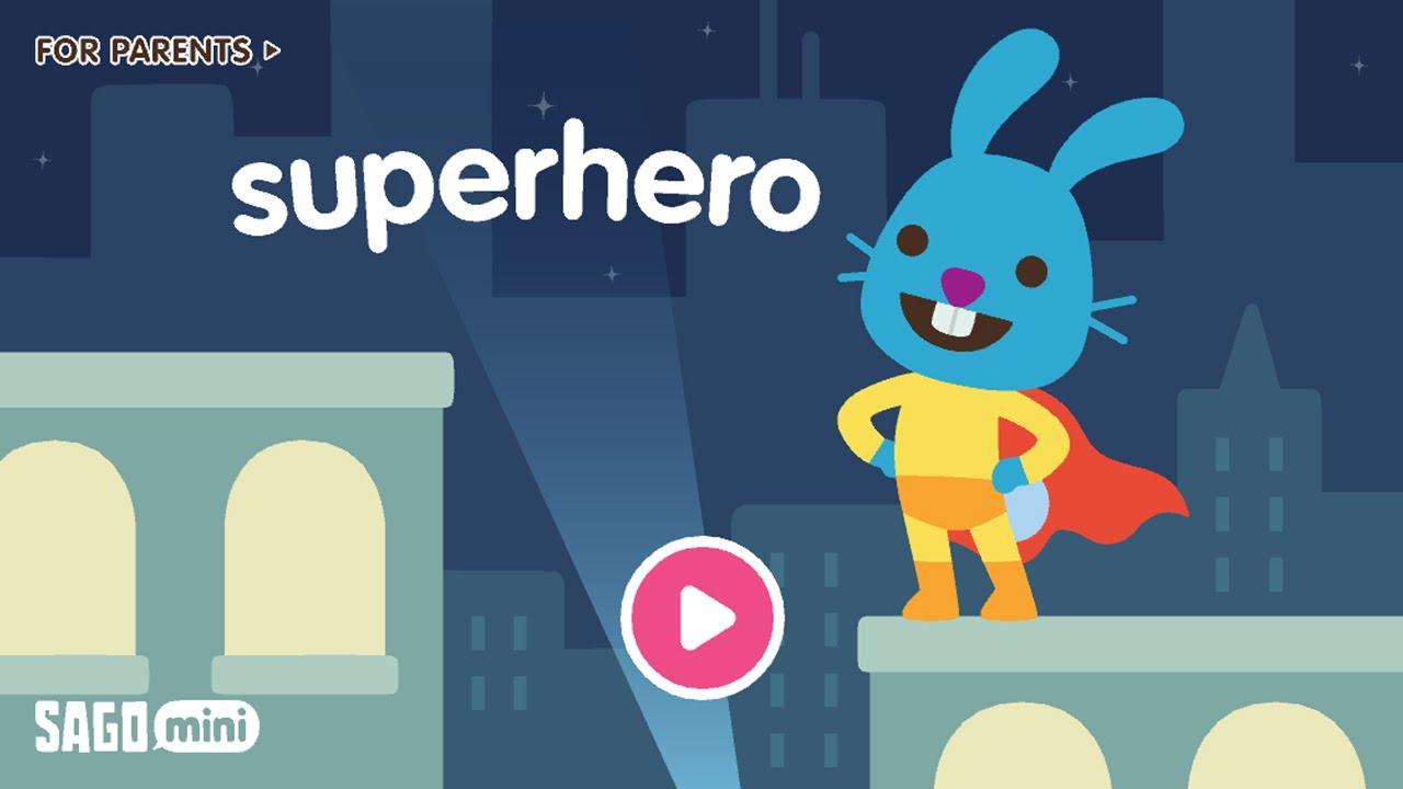 Sago Mini Superhero Sago Sago Best App For Kids Youtube