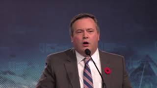 Former federal cabinet minister Jason Kenney was voted in as the leader of Alberta?s fledgling United Conservative Party on Saturday. Kenney said the party aims to include a ?broad coalition? of Albertans.