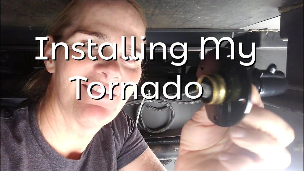 Diary Rv Black Tank Tornado Install Youtube