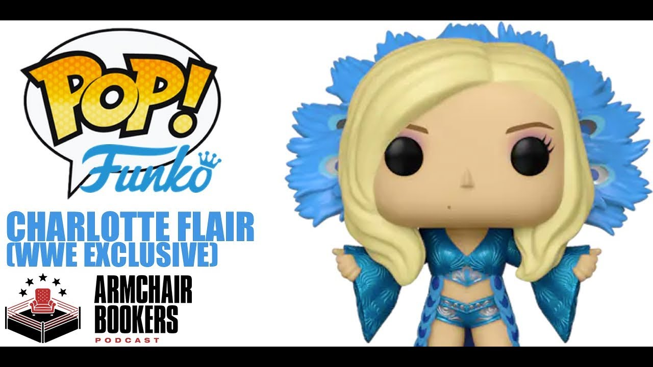 WWE FUNKO RIC CHARLOTTE FLAIR GOLD 2 PACK FIGURES NEW