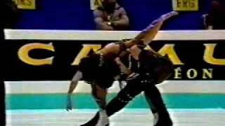 Duchesnay & Duchesnay (FRA) - 1988 Europeans, Ice Dancing, Free Dance
