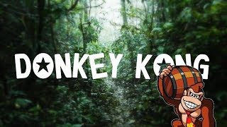 Relaxing Donkey Kong Music + Rain \u0026 Thunderstorm Sounds