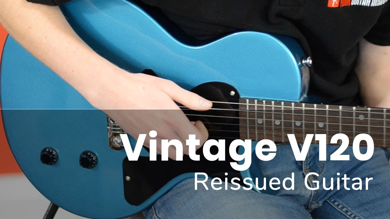 Vintage V120 Reissued Guitar Demo Youtube