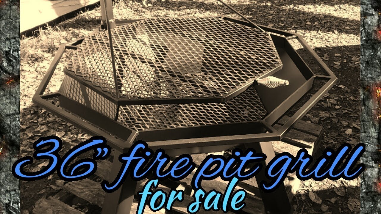 """36"""" fire pit grills for sale - YouTube"""