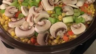 Chicken Pot Pie in the Saladmaster Skillet