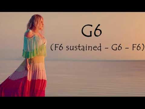 "Kesha - ""Praying"" Vocal Showcase: D3 - Eb5(F5) - G6(B6)"
