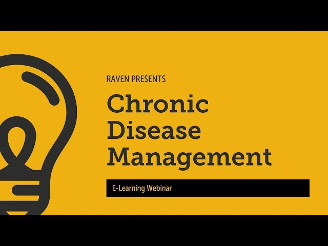 Raven e Learning Chronic Disease Management
