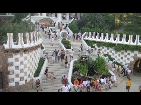 Visiting Park Guell   Barcelona Travel