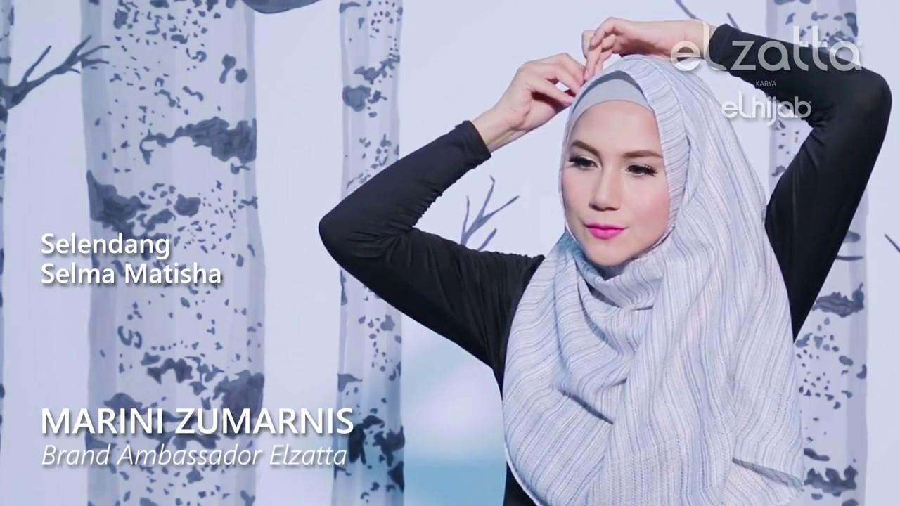 Hijab Tutorial Elegan Marini Zumarnis Elzattahijab YouTube