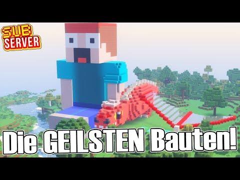 Die GEILSTEN Bauten! - Minecraft SubServer mit Clym | Earliboy