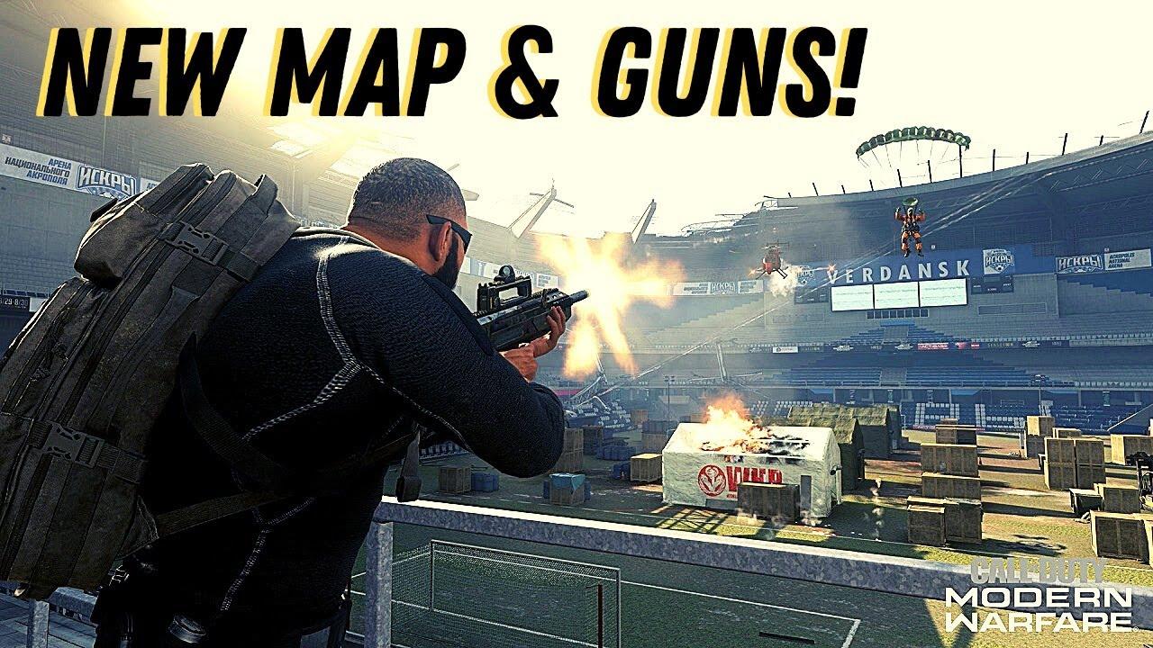 New Guns Characters Map Modern Warfare Season 5 Update Call Of Duty Warzone Live Gameplay Youtube