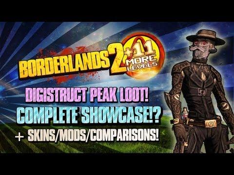 Borderlands 2: Digistruct Peak COMPLETE Demonstration & Showcase - Pearls, Mods, Skins