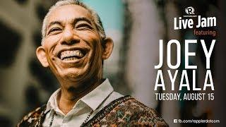 Rappler Live Jam: Joey Ayala returns