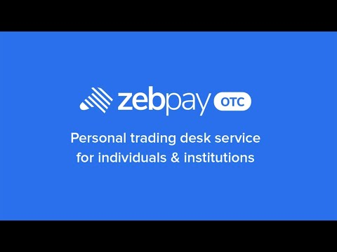 ZebPay OTC - How To Sign Up, Sign In, And Place A Trade