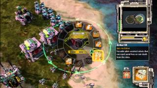 Red Alert 3 Command & Conquer - How To Beat Brutal Al 1vs1 HD