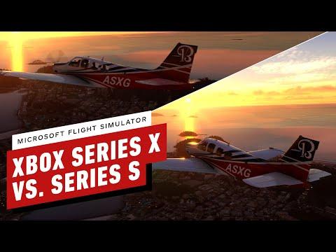 IGN: сравнение графики Microsoft Flight Simulator на Xbox Series X и Xbox Series S