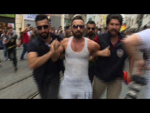 Turkey police fire rubber bullets at banned Gay Pride parade