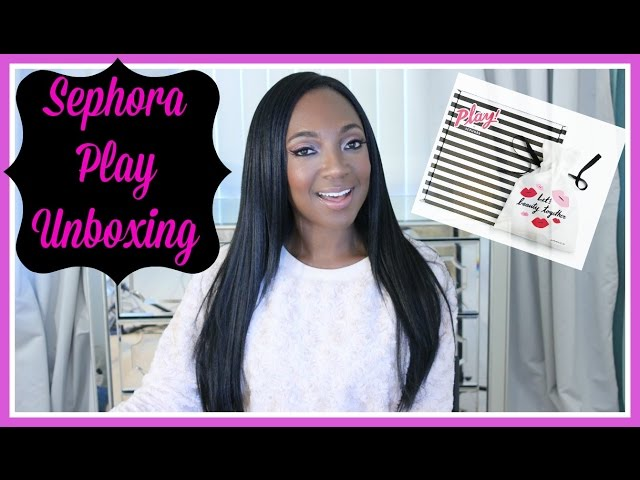 Sephora Play January 2017 Unboxing- $10 Makeup Subscription Box