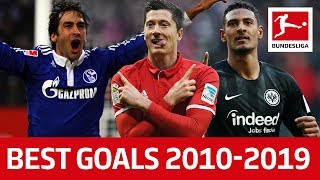 Top 10 Best Goals of The Decade 2010-2019 - Lewandowski, Haller, Raúl & More