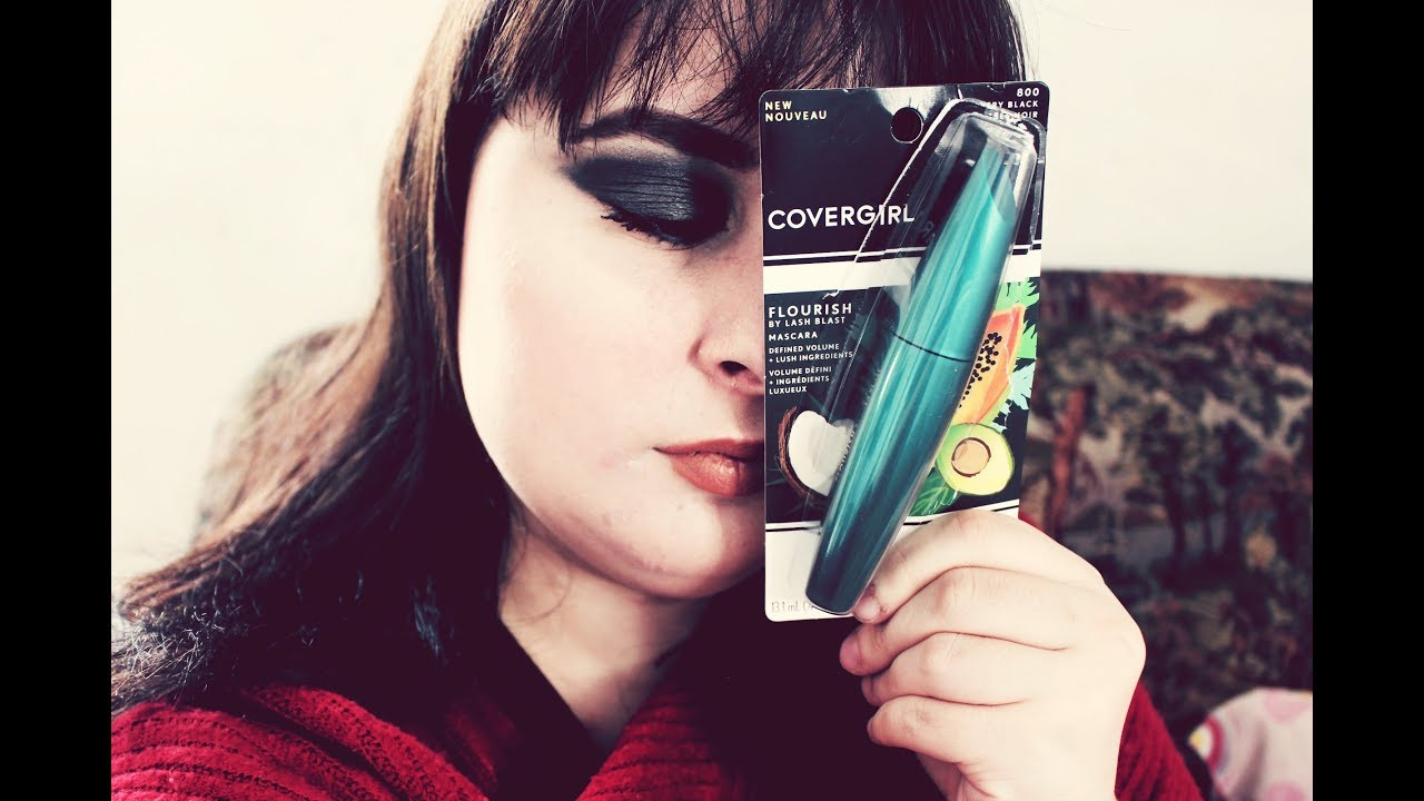 1cff4ee567f CoverGirl Flourish by Lashblast   mascara review& demo - YouTube