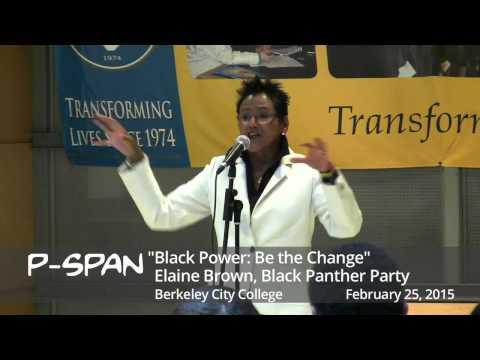 P-SPAN #419:  Elaine Brown at Berkeley City College