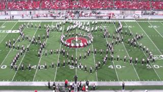 OSUMB Ohio State Marching Band Halftime Country AND Western 9 28 2013 OSU vs Wisconsin TBDBITL