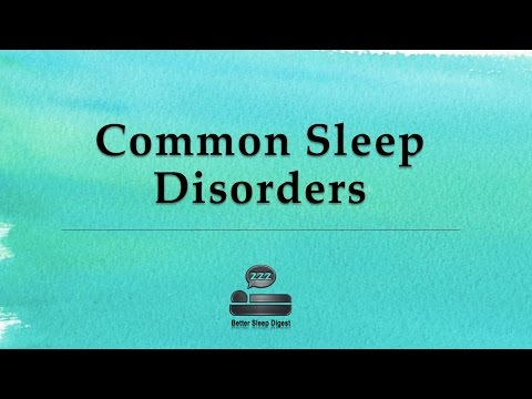 Some Most Typical Sleep Problems
