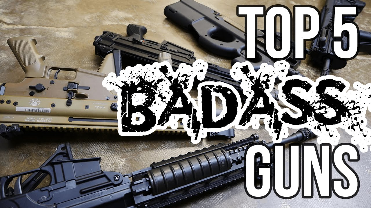 guns of today Machine gun, automatic weapon of small calibre that is capable of sustained rapid fire most machine guns are belt-fed weapons that fire from 500 to 1,000 rounds per .