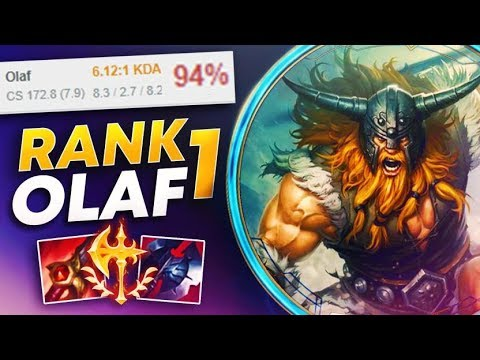 THIS IS WHAT RANK 1 94% WR OLAF LOOKS LIKE