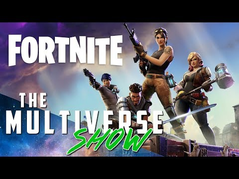 Multiverse Show Ep 67 : Xbox Gamer MURDERED PS Gamer on Fortnite & Tomb Raider Movie Poster REVEALED