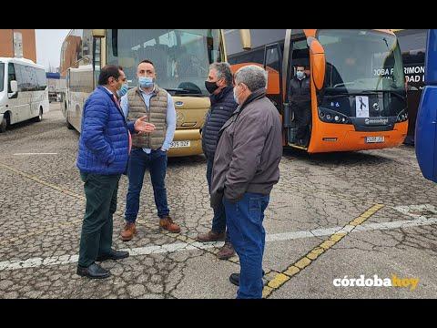 VIDEO: El transporte discrecional protesta por su penosa situación económica y laboral