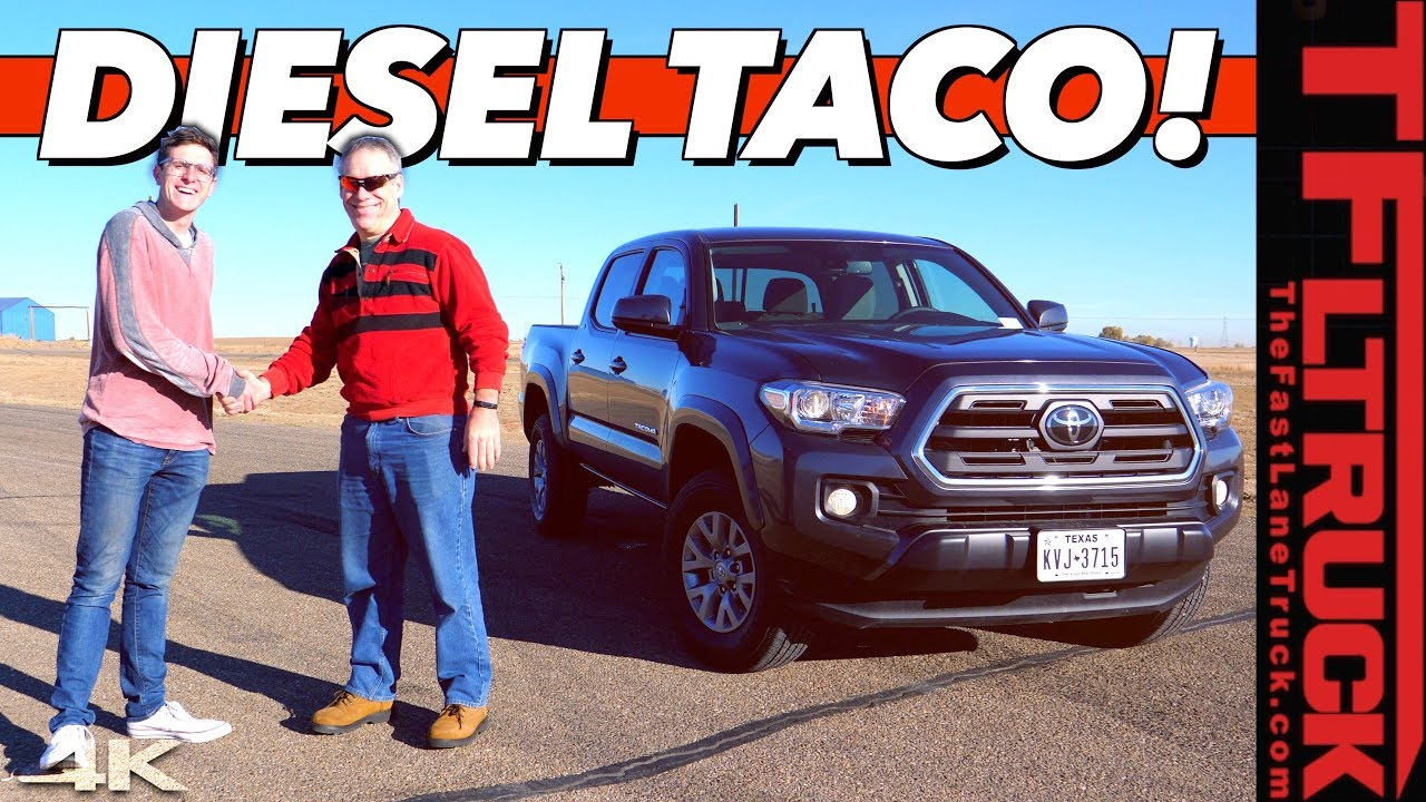 Toyota Diesel Truck >> This Forbidden Tacoma Diesel Is The Truck You Want But Toyota Won T Build Dude I Love My Ride