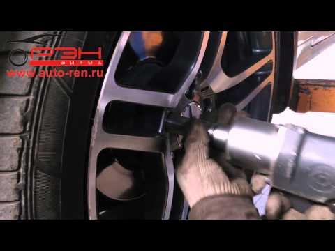 Замена тормозных колодок Mercedes-Benz E класса W207