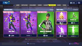 *NEW* NFL & REFEREE SKINS! [ITEM SHOP NOV 9] FORTNITE BATTLE ROYALE