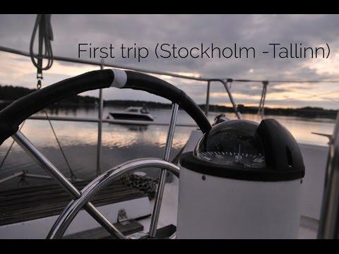 First trip (Stockholm -Tallinn)