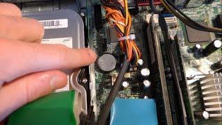 Réinitialiser le BIOS d'un PC fixe