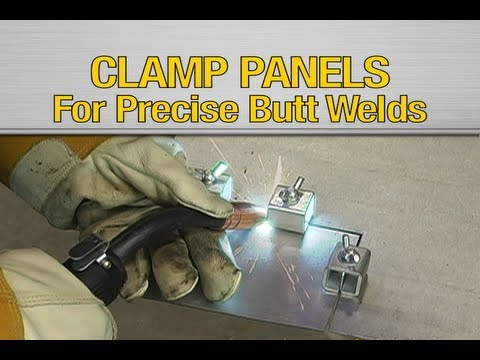 Welding Panel Clamps From Eastwood Youtube