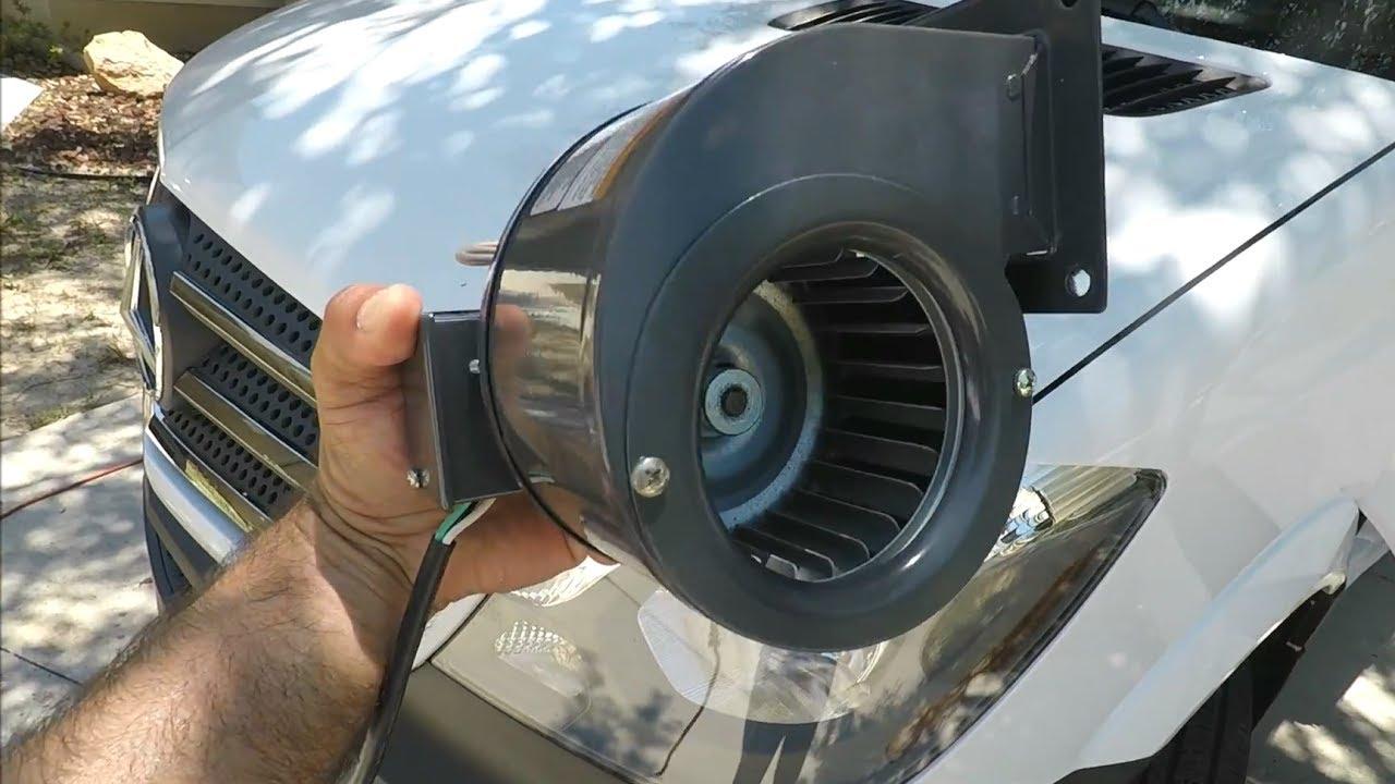 Sprinter Van Cabin Blower RV Camper Conversion DIY Fan
