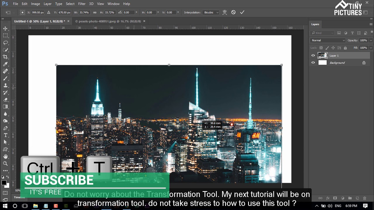 1 photoshop tools tutorial i move tool youtube 1 photoshop tools tutorial i move tool baditri Image collections