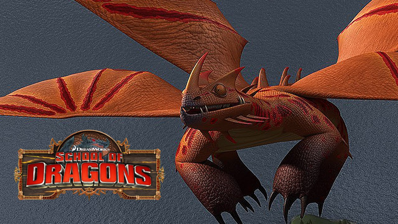 School of Dragons: Dragons 101 - The Singetail - YouTube