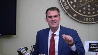 Gov. Stitt responds to tribal gaming lawsuit
