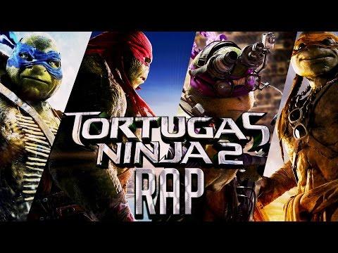 TORTUGAS NINJAS : FUERA DE LAS SOMBRAS RAP || Ykato Feat. BorregoHardcore, ZadeMusic, Asael