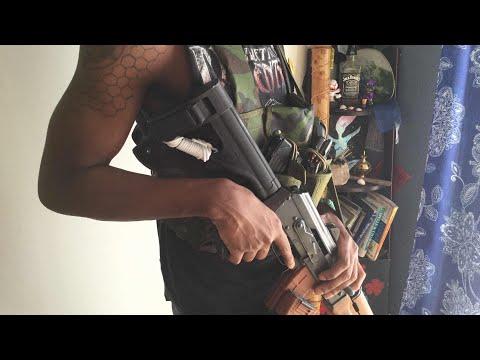 ZASTAVA M92 AK CHEST RIG   SHTF LOAD OUT