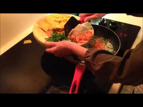 How To Make Migas: Mexican Style Egg Dish!